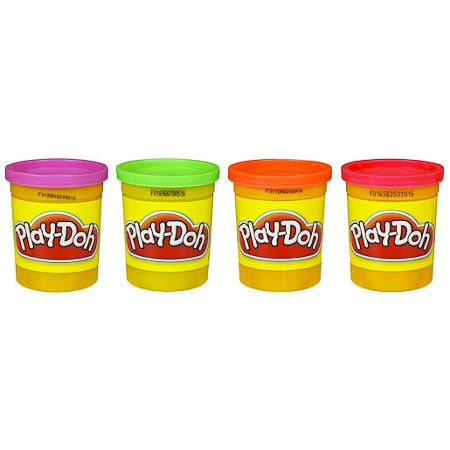 Play Doh 4 pack
