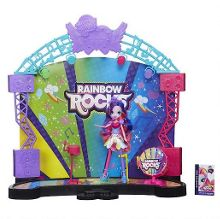 Equestria girls rainbow rocks stage
