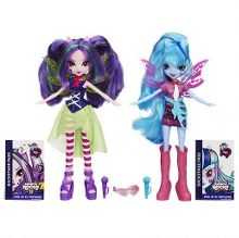 Equestria girls rainbow rocks dolls
