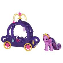 My Little Pony Princess twilight sparkle carriage