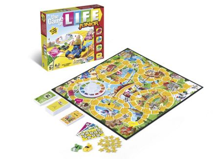 Hasbro The Game of Life Junior Edition