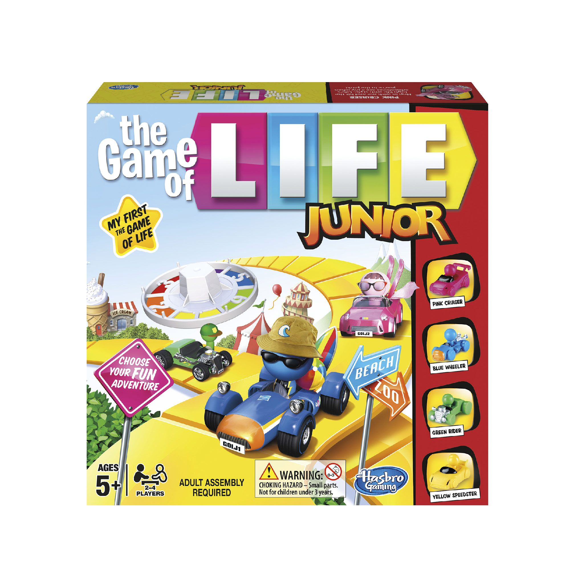 Image of Hasbro The Game Of Life Junior Game