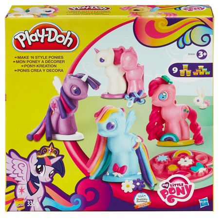 Play Doh My Little Pony Make `N Style Ponies