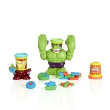 Smashdown hulk with marvel can-heads