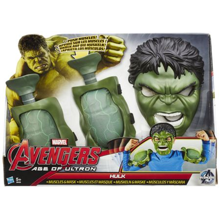 The Avengers Age of Ultron Hulk Muscles & Mask
