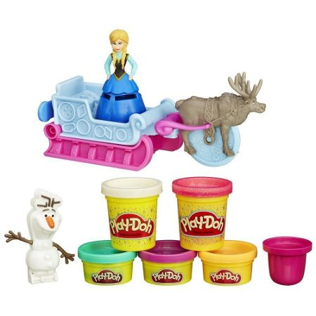 Play Doh Disney Frozen Sled Adventure