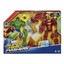 The Avengers Super Hero Mashers Hulkbuster v HulkMash