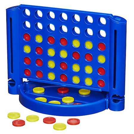 Hasbro Connect 4 grab & go game