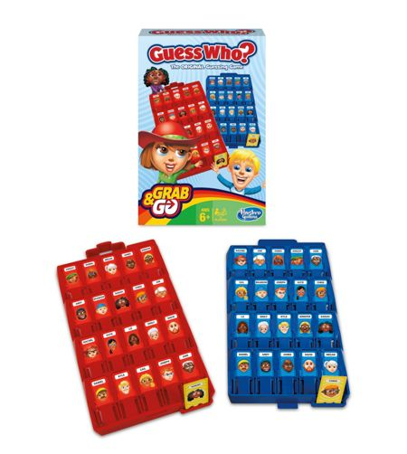 Hasbro Guess who? grab & go game