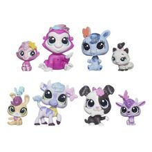 Littlest Pet Shop Glitter Pets Figure Set