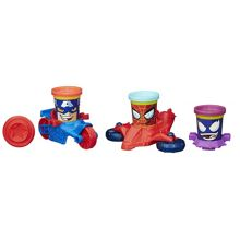 Play Doh Marvel Can-Heads Vehicles