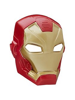 Civil War Iron Man Tech FX Mask
