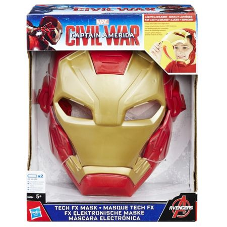 Captain America Civil War Iron Man Tech FX Mask
