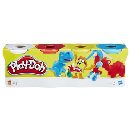 Play Doh 4 Pack (Colours Vary)