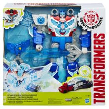 Transformers Power Surge Optimus Prime Figure
