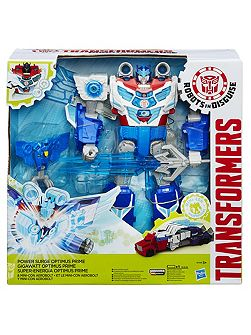 Power Surge Optimus Prime Figure