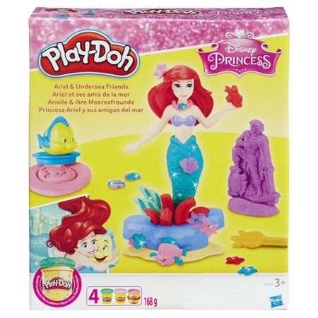 Play Doh Ariel and Undersea Friends Set