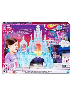 Equestria Crystal Empire Castle Playset