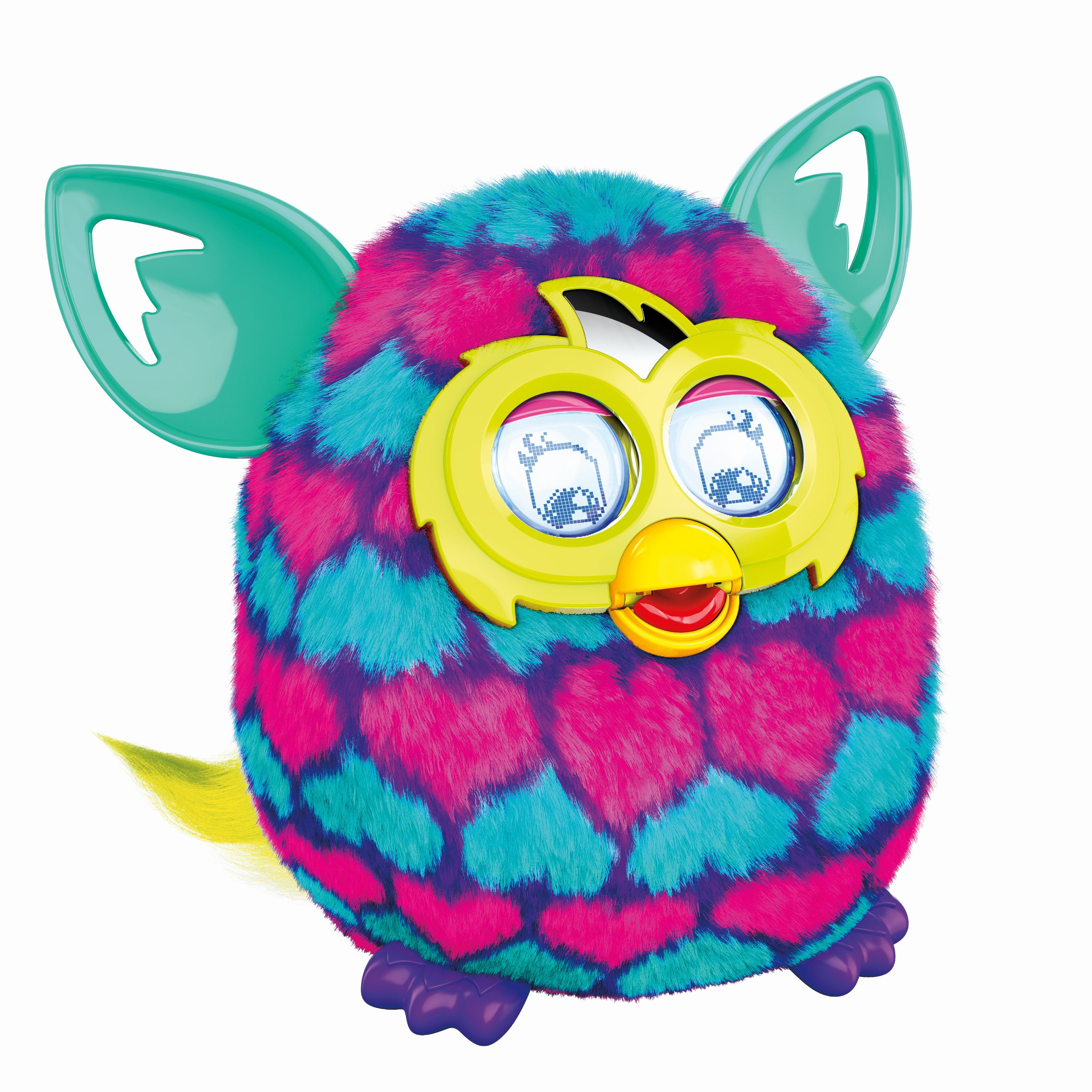 Furby Boom Sweet Pink & Blue Hearts