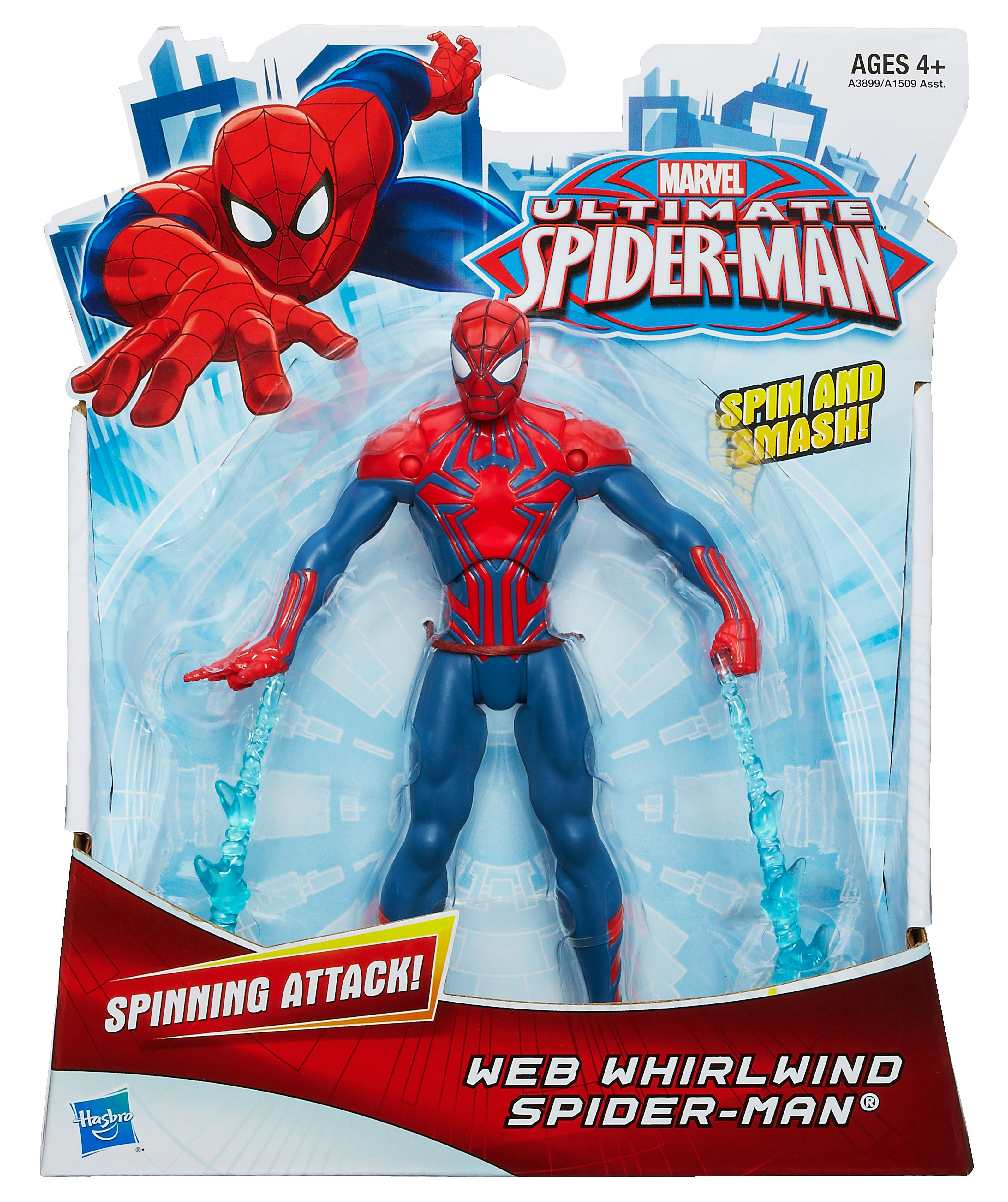 Web whirlwind Spiderman figure