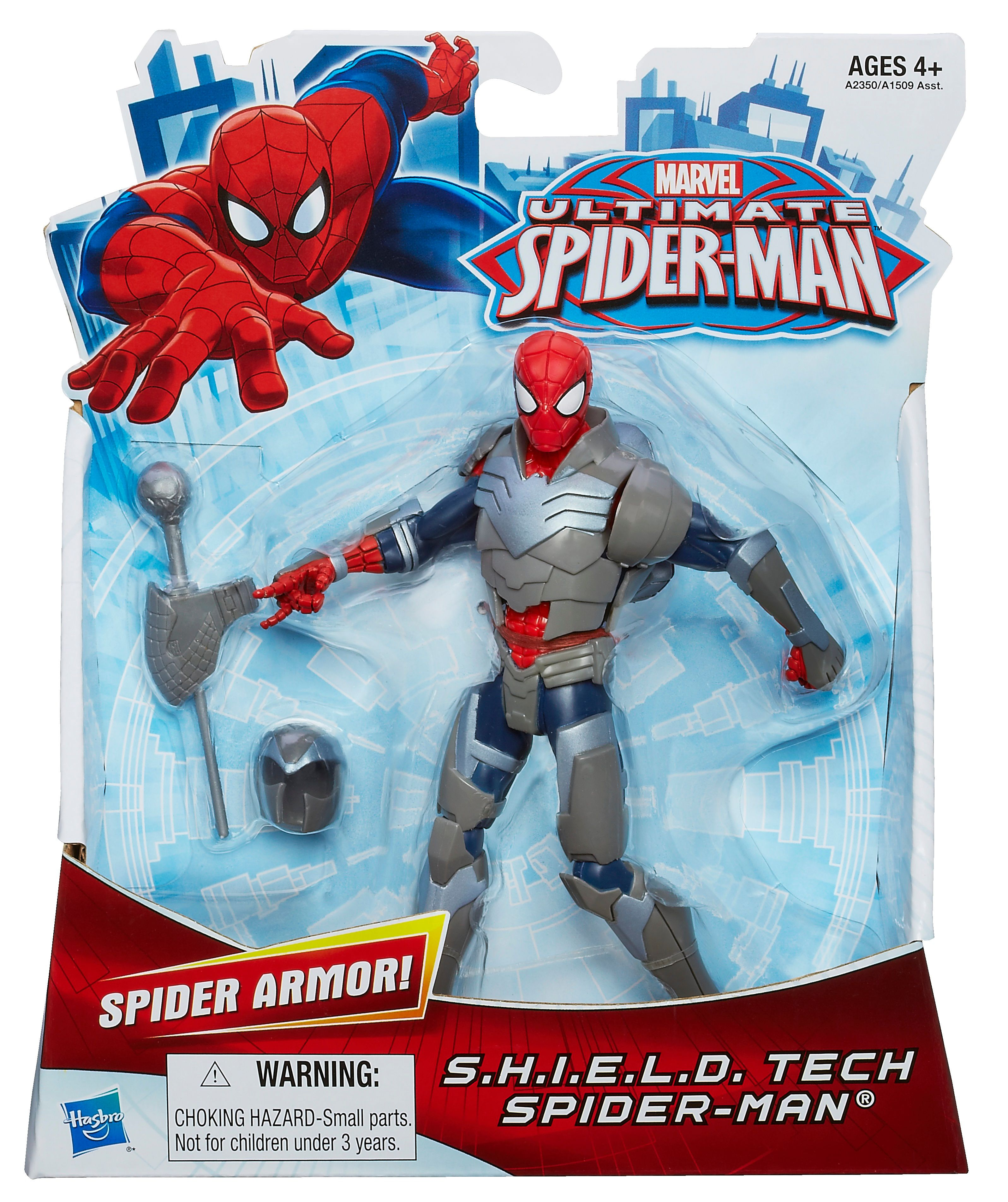 SHIELD TECH Ultimate Spiderman Figure