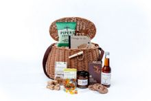 A day by the river picnic hamper
