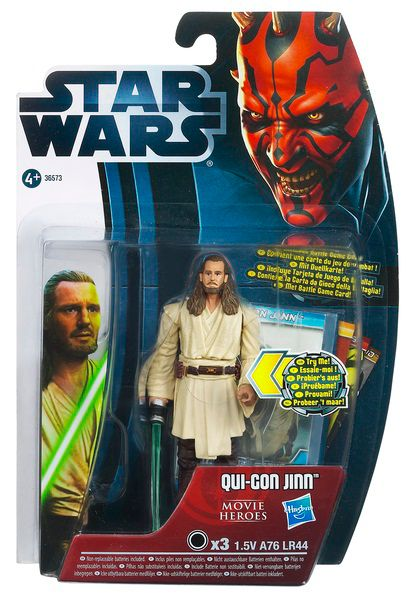 Qui Gon Jinn movie legends figure