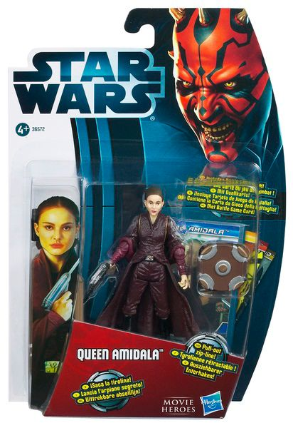 Queen Amidala movie legends figure