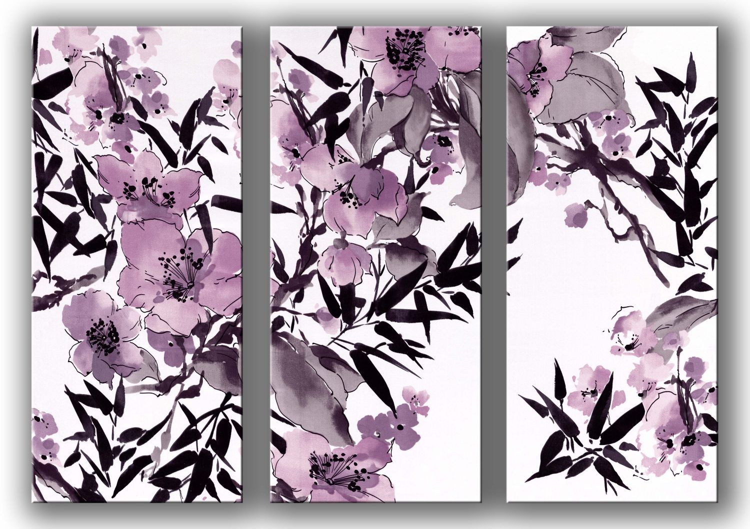 Monsoon Kyoto cherry blossom wall art