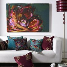 Monsoon Peony wall art