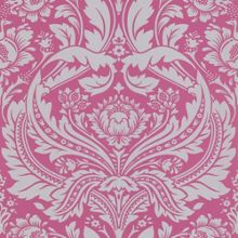 Graham & Brown Pink/silver desire wallpaper