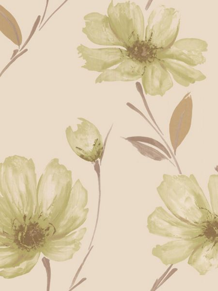 Graham & Brown Green spirit wallpaper