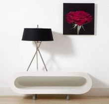 Crimson kiss wall art