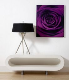 Plum passion wall art