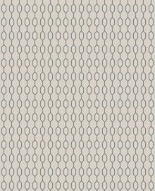 Beige taupe/silver hicks wallpaper
