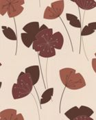 Graham & Brown Orange flori burnt wallpaper