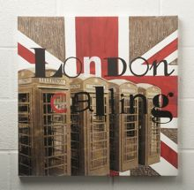 London calling wall art