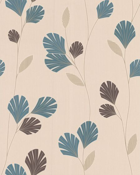 Graham & Brown Blue teal sarah wallpaper