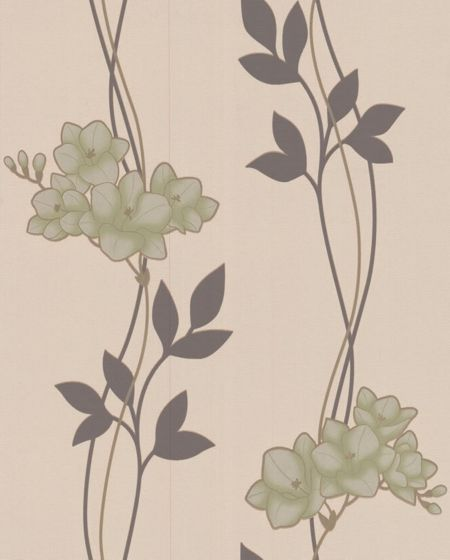 Graham & Brown Green serene wallpaper