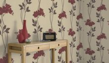 Graham & Brown Red serene wallpaper