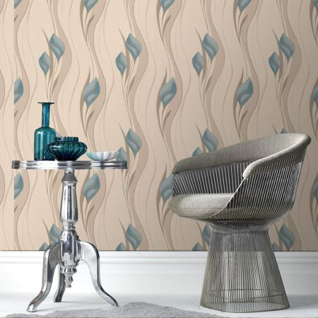Graham & Brown Blue duck - egg peace wallpaper