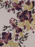 Graham & Brown Plum monsoon meadow wallpaper