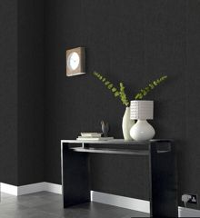 Graham & Brown Black spunsilk wallpaper