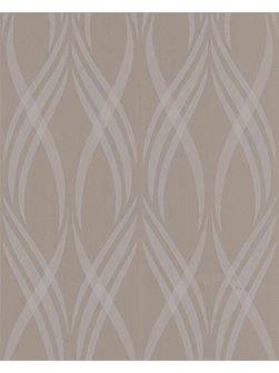 Beige taupe neo wallpaper