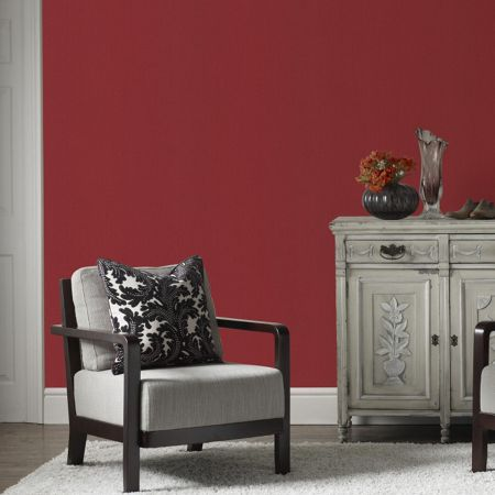 Graham & Brown Red rocco wallpaper