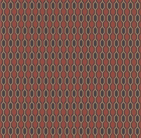 Graham & Brown Orange/gold hicks burnt wallpaper
