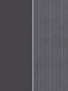 Graham & Brown Black charcoal stripe bold wallpaper