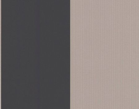 Graham & Brown Black taupe/gold bold stripe wallpaper