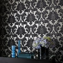 Graham & Brown Black/gold majestic wallpaper