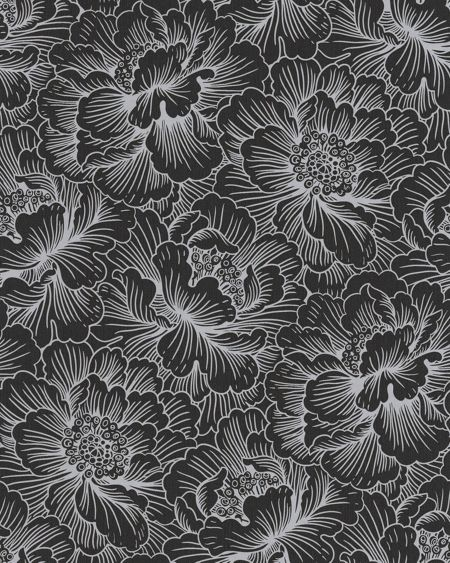 Graham & Brown Black flourish wallpaper